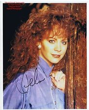 REBA McENTIRE American Country Singer Songwriter  Actress   HAND SIGNED Photo