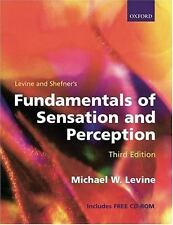 Fundamentals of Sensation and Perception (Book with CD-ROM)