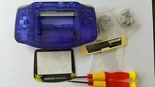 HOUSING POUR GAMEBOY ADVANCE POKEMON CLEAR BLUE NEW