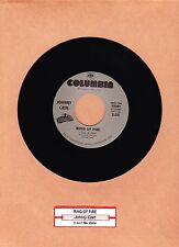 """CASH, JOHNNY - RING OF FIRE / IT AIN'T ME, BABE  """"JUKEBOX"""" 45 COLLECTABLES  MINT"""