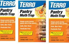 3 pack TERRO Pantry Moth Trap 2 pack T2900 (not avalibale for sale in NM), New