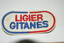 LIGIER GITANES BADGE LABEL PICTURE WITH SEW ON PATCH NEW TOOL DIY