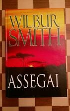 Wilbur Smith Assegai Hardback Book 2009 LARGE PRINT
