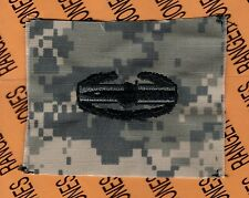 US Army CAB Combat Action Badge ACU Qualification cloth award patch B