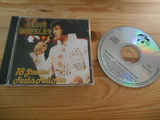CD Pop Elvis Presley - 18 Greatest Rock'n'Roll Hits (18 Song) WORLD STAR
