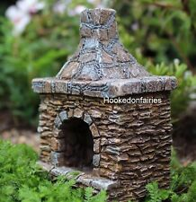 Miniature Outdoor Chimney 1165 Fairy Garden Dollhouse