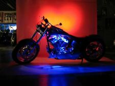 6 Pc Yellow Neon Flexible LED Motorcycle Lighting Kit with Remote Control & EFX!