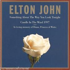ELTON JOHN - Something About.../Candle In The Wind 1997 (USA 2 Tk CD Single)