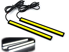 Protable 12V LED COB Car Auto DRL Driving Daytime Running Strip Lamp Fog Light