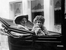 Photo. 1912-4. Women's Suffrage. Christabel & Emmeline Pankhurst in automobile