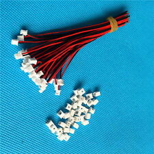 40 SETS Mini Micro JST 1.25 2-Pin Connector with Wires Cables
