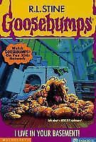I Live in Your Basement! (Goosebumps, No 61)-ExLibrary