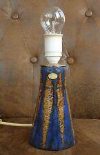 MARI SIMMULSON FÜR UPSALA EKEBY SWEDEN LAMPENFUSS LAMP POTTERY RUBUS 50's 60's