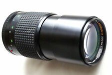 "MINOLTA MD TELE ROKKOR-X  200mm f4 for mirrorles cameras JAPAN ""READ"""