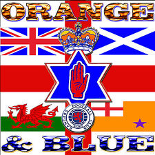 ***  ORANGE  &   BLUE  ***      LOYALIST/ORANGE/ULSTER/ CD