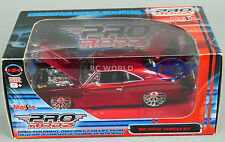 1/24 Maisto Pro Rodz 1969 DODGE CHARGER R/T RED Pro Touring Die cast Model #RK1