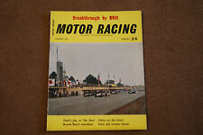 BRSSC Magazine November 1962 Watkins Glen US GP Gp2 Ford Zodiak BRM Jack Brabham