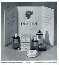 DIVINIA  Schaufensterdekoration 1937-39 * Werbegraphik * Advertising Art 1939