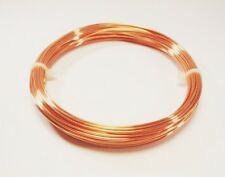 22 Ga Solid Copper Soft Round Wire 3 Oz. 105 Ft. Coil Wire Wrapping Copper wire