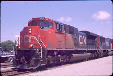 CANADIAN NATIONAL SD70M-2 8809 KODACHROME ORIGINAL SLIDE