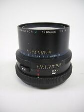 "Mamiya RZ67 Z 65MM F4 ""W"" Wide Angle Lens for all RZ67 Models in EC"