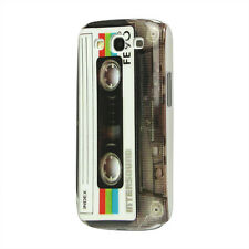 Schutz Hülle Hard Case BackCover Schale Samsung Galaxy S3 i9300 Kassette Tape AT