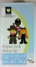 Cricut PAPER DOLL DRESS UP - Dolls Hairstyles Costumes Disguises