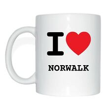I love NORWALK Tasse Kaffeetasse