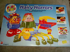 VINTAGE HAIRY HORRORS PLAY STUFF, PLAY DOUGH DOH FROM 1980S L@@K