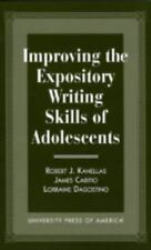 Improving the Expository Writing Skills of Adolescents (Presidency and Arms Cont