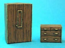 TQD MC02 20mm Diecast Diorama Items: Wardrobe and Chest of Drawers