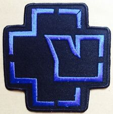 RAMMSTEIN blue LOGO EMBROIDERED Iron on / Sew on PATCH