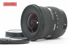 Canon EFs Fit Sigma 10-20mm F4-5.6 DC HSM Wide Angle Zoom Lens *FREE P&P*