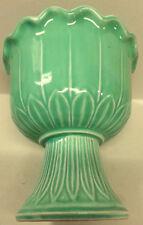 Belle Kogan Green Planter, Red Wing Pottery 834 Vintage Floral Pot Vase