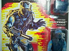 D0500076 SHOCKWAVE MOC MINT ON FACTORY SEALED CARD W/ STARCASE GI JOE