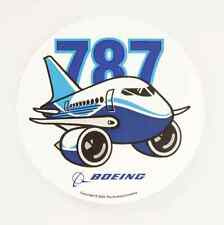 Boeing 787 Pudgy Aircraft Sticker