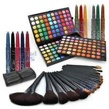 180 Color EyeShadow Palettes + 32Pcs Makeup Brushes + 12 Color Eyeliner Cosmetic