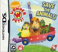 Wonder Pets! Save the Animals complete in case w/ manual Nintendo DS