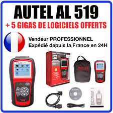 Interface Diagnostique AUTO MultiMarques - AUTEL AutoLink AL519 Valise OBD Diag