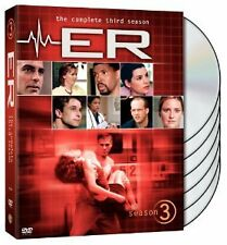 Brand New DVD ER The Complete Third Season (1996) Laura Innes Noah Wyle Anthony