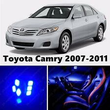 10pcs LED Blue Light Interior Package Kit for Toyota Camry 2007-2011