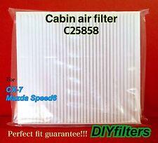 C25858 Premium CABIN AIR FILTER for 2007-2012 CX-7 / 2006-2008 Mazdaspeed6