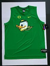 Nike Oregon Ducks Mascot Puddles Tank Top Apple Green  Men's Size 2XL
