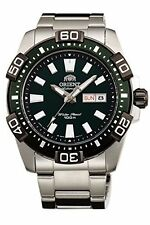 NEW ORIENT SEM7R001F8 Mechanical Automatic Mens' Sport Watch Green Made in Japan