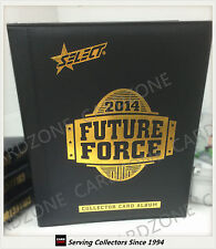 AFL TRADING CARD OFFICIAL ALBUM--2014 Select AFL Future Force Trading Card Album