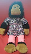 Vintage PG tips tea 1980s Samantha Tipps 16 inch plush Soft toy monkey teddy *