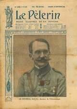 Portrait Général Marie Charles Duval Directeur Aéronautique 1919 ILLUSTRATION
