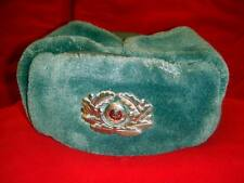 Post WWII East German DDR NVA Army Police officer uniform winter hat cap