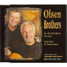 MAXI CD EUROVISION 2000 Danemark : Olsen Brothers Fly on the wings of love 2-TR