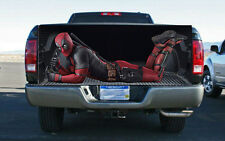 Deadpool Character Truck Tailgate Wrap Vinyl Graphic Decal Sticker Wrap